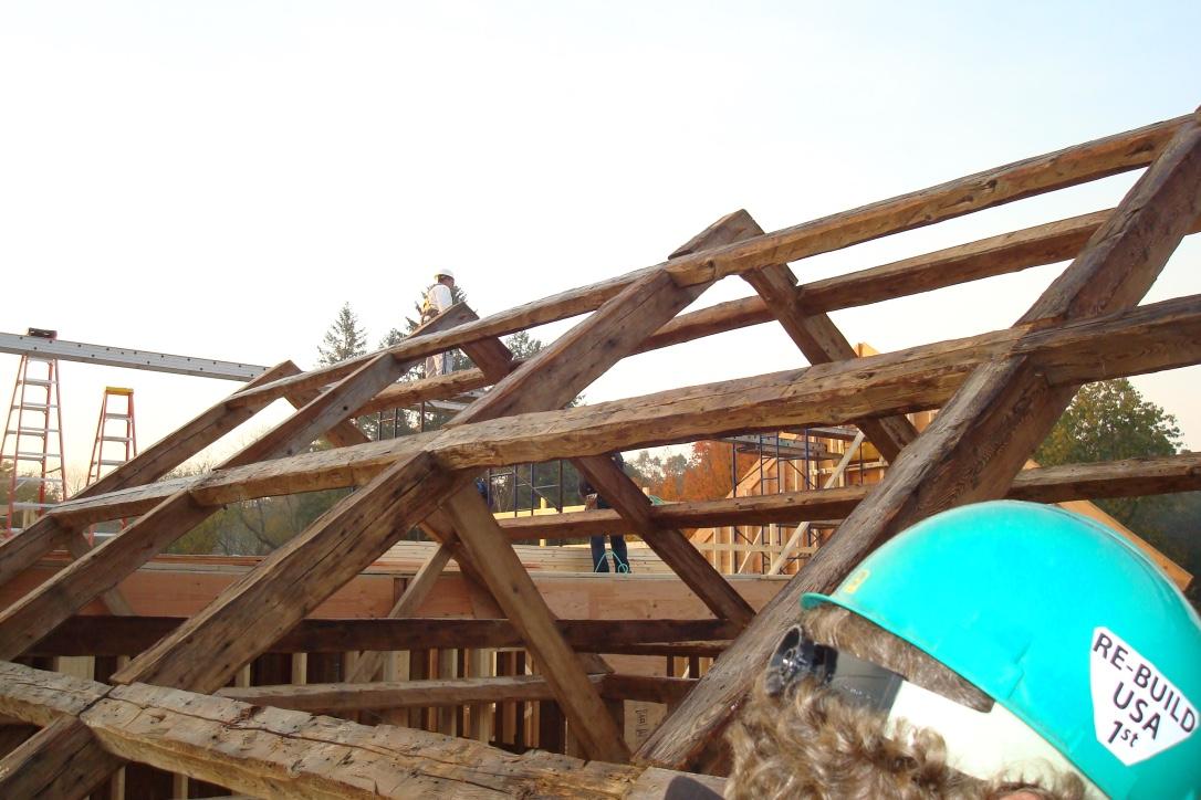 Antique Timber Frame, White River Junction, VT