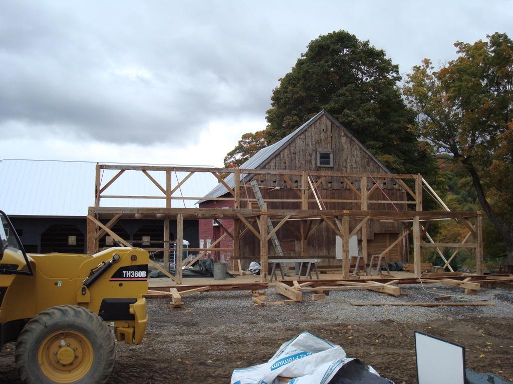 Antique Barn Restoration, Pomfret, VT
