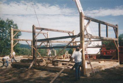 PAST - Historic Barn, Thetford, Vermont
